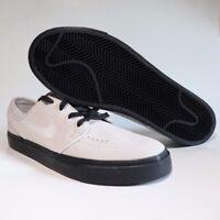 Nike SB Zoom Stefan Janoski VAST GREY SUEDE BLACK 333824-068 sz 9 SKATE SHOES