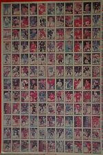 "1991-92 OPC '91 O-Pee-Chee Hockey UNCUT Sheet 132 Cards 42.5""x28.5"" EX"
