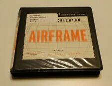 Airframe CD Audiobook Michael Crichton