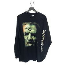 """Six Feet Under - """"I Want to Eat Your Brain"""" Vintage Long Sleeve T-Shirt XL"""