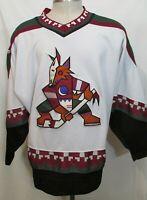 Vintage NHL Phoenix Coyotes Away Starter Stitched Hockey Jersey Men's Large