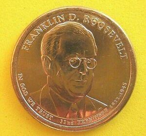 USA - UNCIRCULATED - FRANKLIN D ROOSEVELT - PRESIDENTIAL DOLLAR - 2014 - D mint