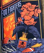 Foo Fighters Atlanta Superbowl 2019 Poster Print S/N #/150 Justin Helton Nirvana