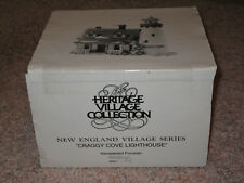 Department 56 Craggy Cove Lighthouse 1987 New England Village In Box