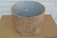 "1960's GRETSCH 20"" 6-PLY UNCOVERED BASS DRUM SHELL for YOUR DRUM SET! #V528"