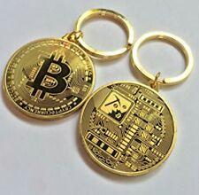 Bitcoin keyring X 2. Crypto keychain. Gift   Novelty