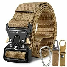 "Tactical Belt,Military Style Quick Release Belt,1.5"" Nylon Riggers Belts"