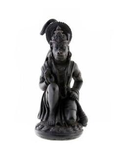 Statuette Des Dieu Hindu Hanuman König der Affen IN Harz