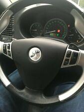 Hirsch Deer Logo SAAB 9-3 9-5 99-05 Chrome Steering Wheel Badge Emblem 3-D decal