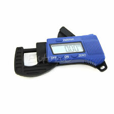 0-12.7mm Carbon Fiber Composites Digital LCD Thickness Caliper Micrometer Guage