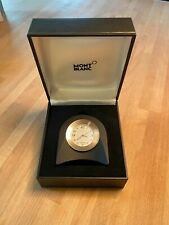 Original Montblanc table watch made stainless steel - Made in Germany! - NEW!