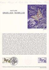 Document Philatélique Timbre  1er Jour : 31/05/ 1980 - Graellsia Isabellae