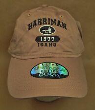 Harriman Idaho Hat Cap Fly Fishing USA Embroidery Unisex Cotton New