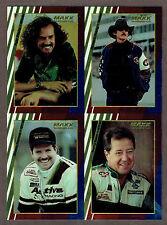1994 Maxx Nascar Chromium Uncut 4-Panel, Richard & Kyle Petty, Harry Gant...