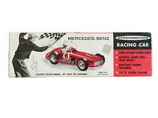 Strombecker Mercedes-Benz Racing Car 1/24 Scale Slot Car Model Kit 1959 Vintage