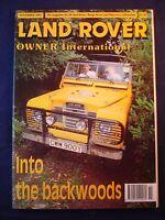 Land Rover Owner LRO # November 1993