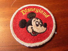 vintage PATCH Mickey Mouse Disneyland Walt Disney Productions USA wd