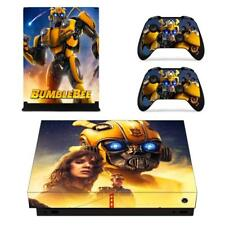 Xbox one X Consoles Controllers Vinyl Skin Bumblebee Transformers Decal Stickers