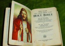 1963 St. Joseph Holy Bible New Catholic Douay Confraternity Edition Illustrated