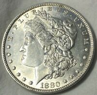 1880 O Morgan Silver Dollar $1 ~ Lustrous BU Blazer Uncirculated BETTER DATE!