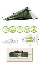 2 homme imperméable légère tente camping Alpine Vert - 317 x 240 x 100 cm -