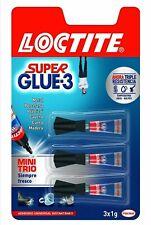 Super Glue 3  LOCTITE Mini Trio 3x1g