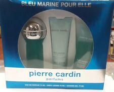 BLEU MARINE ELLE PIERRE CARDIN EAU PARFUM 75 + GEL 75 + BODY 75