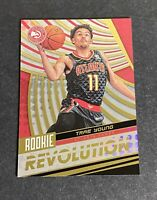 2018-19 Panini Rookie Revolution #3 TRAE YOUNG Hawkes RC Basketball Card - Mint