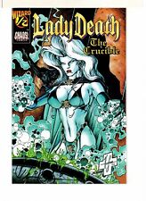 LADY DEATH THE CRUCIBLE 1/2 SIGNED BY BRIAN PULIDO!