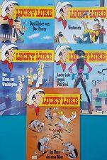 Lucky Luke Comics 5 Bände  82 bis 86     ungelesen