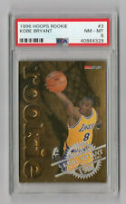 1996 Hoops Rookie Gold Embossed Foil Kobe Bryant #3 PSA 8 NM-MT Scratched Case