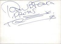 Paul Fenton Schlagzeuger T. Rex Drummer GB Original Autogramm Autograph (O-30