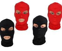 Sturmhaube Gesichtsmaske Maske Mit Ohne Mund Motorradmaske Skimaske Rot Schwarz