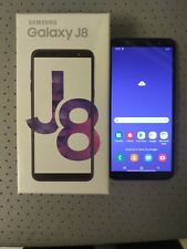 "New Open Box Samsung Galaxy J8 2018 32GB 6"" 16MP 3GB Ram Dual Sim Unlocked"