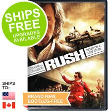 Rush (DVD, 2014) NEW, Daniel Bruhl, Chris Hemsworth, Olivia Wilde, Formula 1, Ja