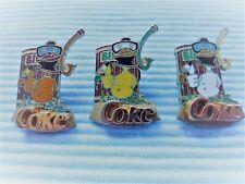 3 Coca Cola Enten Pins BIBO