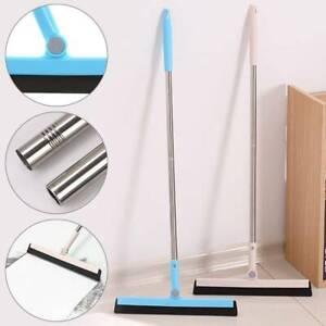 Floor Squeegee Tile Cleaning Foam Wiper Blade Shower Wet Room Telescopic Handle