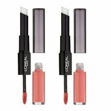 2x L'oreal Infallible 2 Step 24hr Lipstick 201 Everlasting Caramel