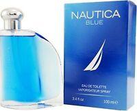 Authentic  Nautica Blue Men Cologne Eau De Toilette EDT Spray 100ml / 3.4oz