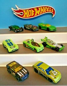 8x Hot Wheels Job Lot  Track Aces  various conditions-INC Horse play , overboard