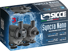 SICCE SYNCRA NANO Pumpe 430l/h Förderhöhe 0,7m mit WET & DRY Funktion!