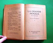 La grande pioggia - Louis Bromfield - Ed. Mondadori 1941