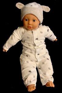 """CITITOY 1997 Vinyl/Cloth 20"""" Baby Boy Doll - Blue Eyes GUC"""