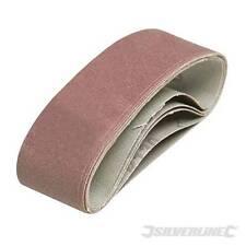 EN STOCK - LOT 20 bandes abrasives pour toutes Ponceuses 40 x 305 mm