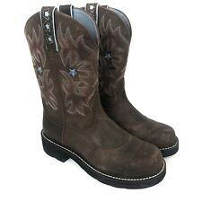 Ariat ARIAT Womens Probaby Western Cowboy Boot Driftwood Brown Leather Size 8 US
