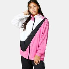 Nike Air Swoosh womens logo pink nylon Sweatshirt Nike womens top size X-small