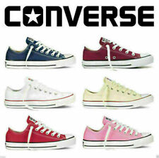 Converse Women Men Unisex All Star Low Top Chuck Taylor Trainer Shoes All Colour
