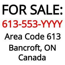 Bancroft, ON : 613-553-YYYY