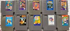 NES Lot 10 Games FULLY FUNCTIONAL