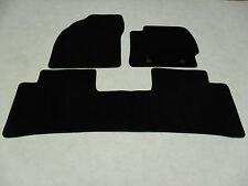 Toyota Prius (3 x Piece) 2009-12 Fully Tailored Deluxe Car Mats in Black.